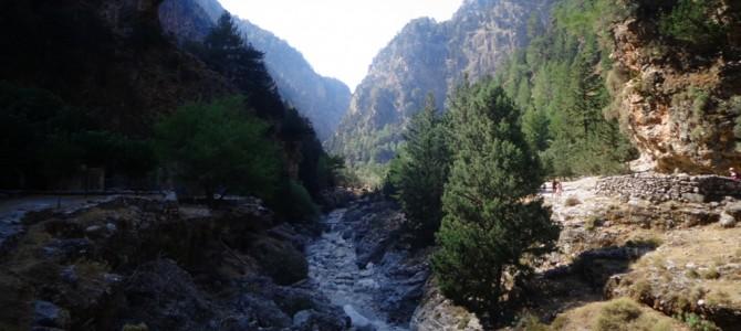 Ущелина Самар'я – привабливе випробування західного Криту