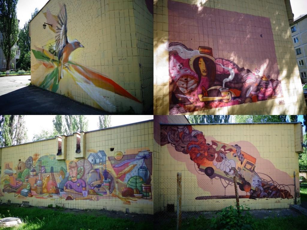 Адреса: котельня навпроти будинку на вулиці Академіка Туполєва, 11в Автор: Kickit Art Studio (Україна)