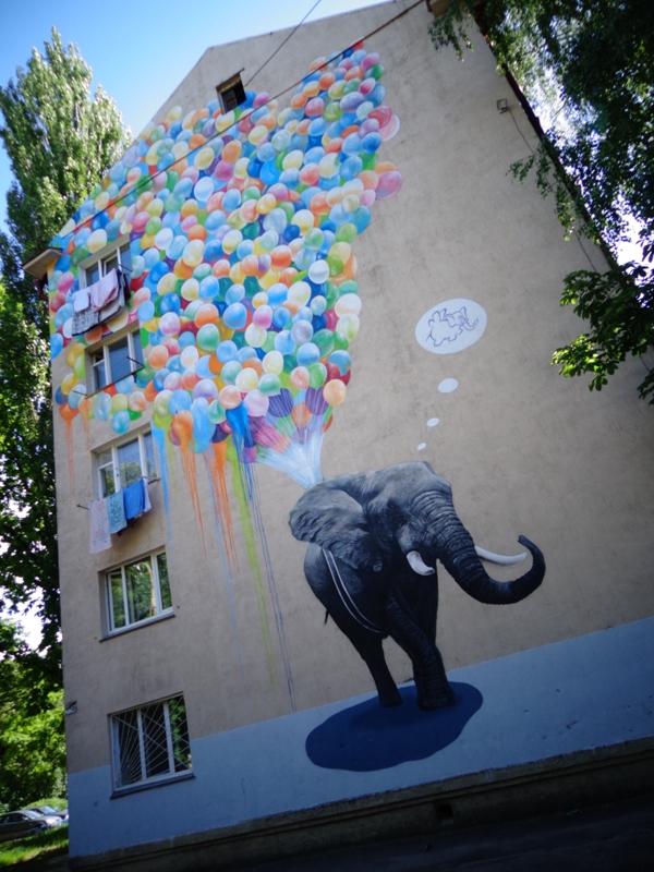 Адреса: вулиця Академіка Туполєва, 7б Автор: Олександр Корбан (Україна)