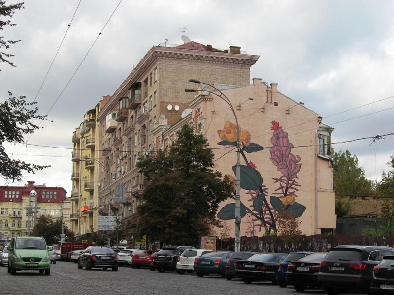 Адреса: вулиця Велика Васильківська, 33 Автор: Pastel (Francisco Diaz, Аргентина)