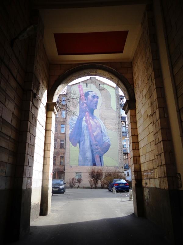 Адреса: вулиця Велика Житомирська, 6а Автор: Aryz (Ариз, Іспанія)