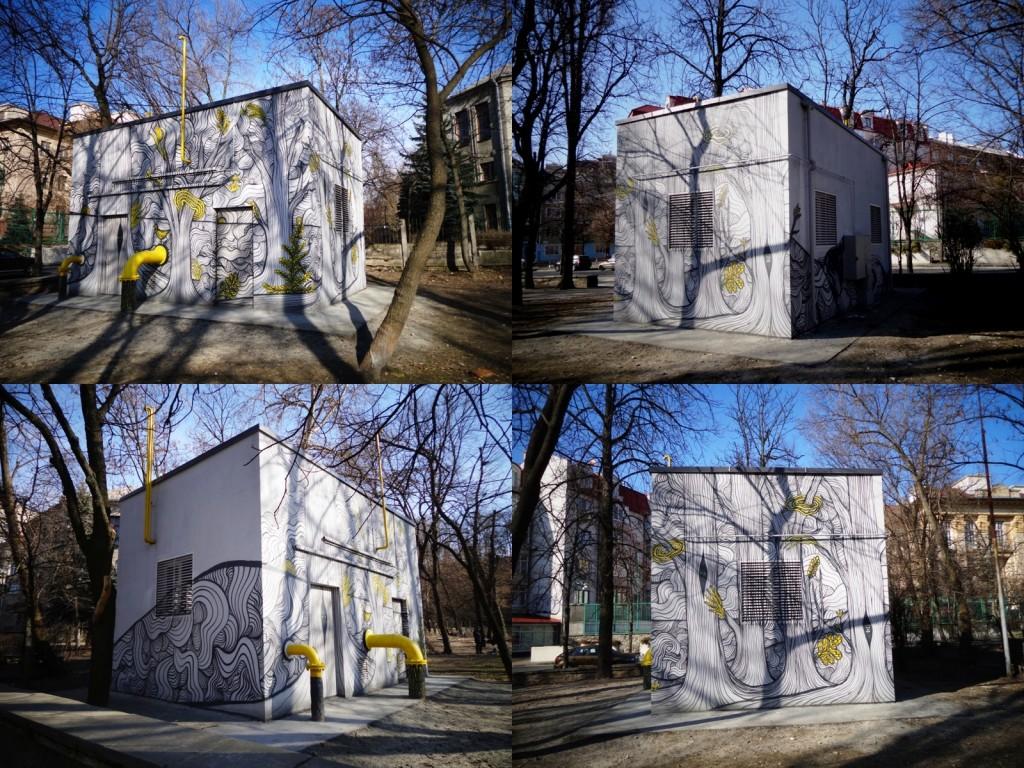 Адреса: вулиця Володимира Винниченка, Павлівський сквер Автор: Андрій Датура (Україна)